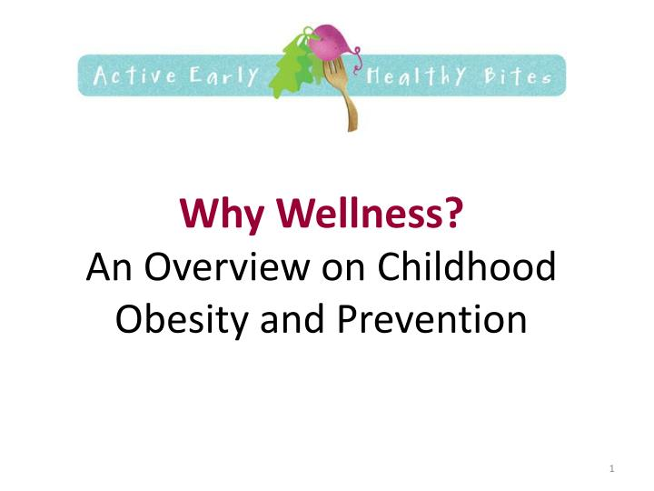an introduction to the management and prevention of obesity in children Preventing childhood obesity – introduction an overview of the obesity prevention objective overweight children at risk for developing obesity.