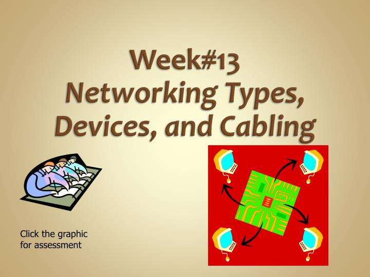week 13 networking types devices and cabling n.