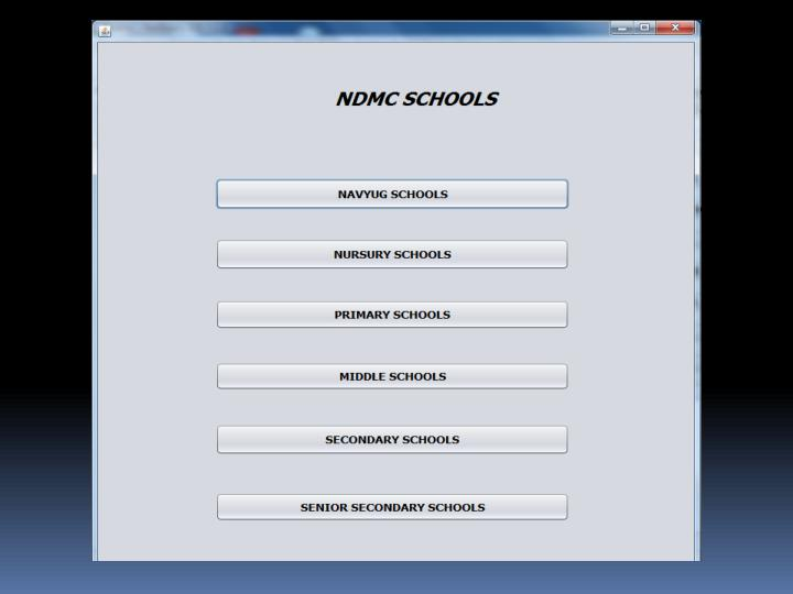 Ndmc school website