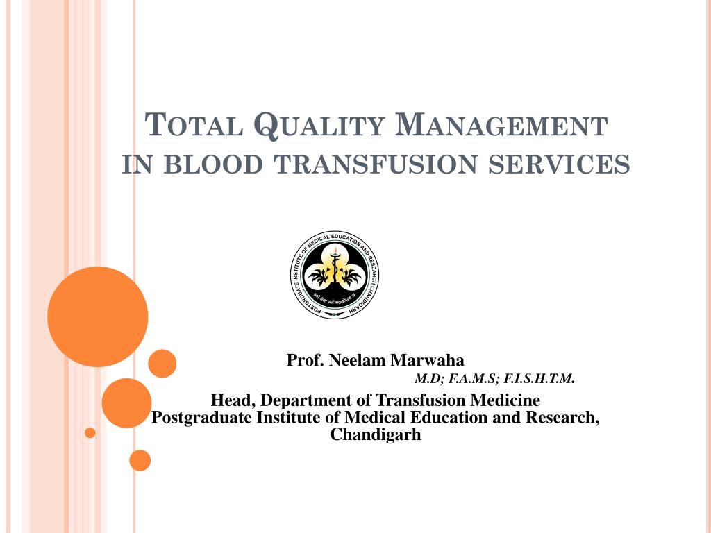 total quality management in education ppt