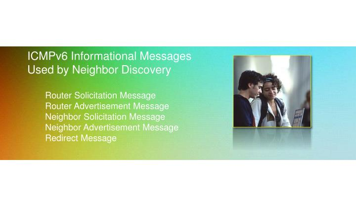 ICMPv6 Informational Messages