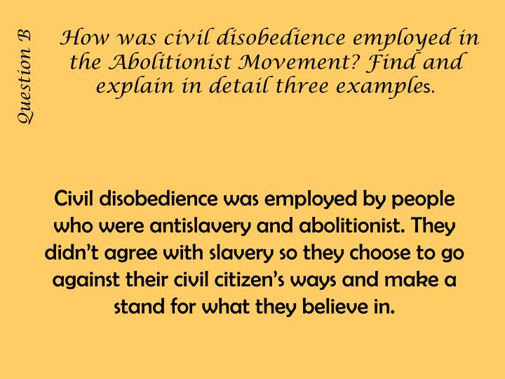 cons of civil disobedience Sometimes disobedience is necessary and good when rules fail us, and it's at the core of why we hack hacking is a means of expressing dissatisfaction, confounding the mechanism, and ultimately.
