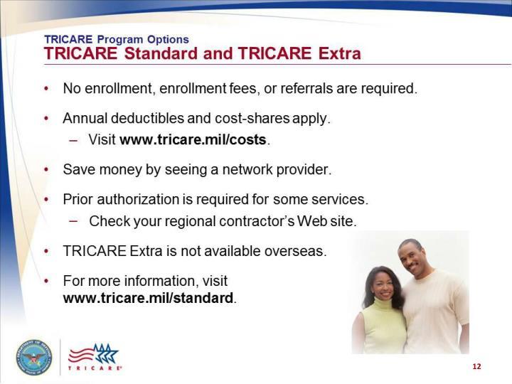 TRICARE Program Options:
