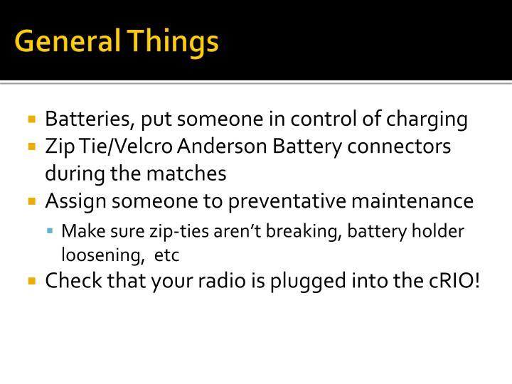 General Things