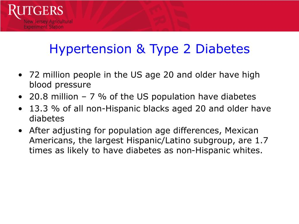 PPT - The DASH Diet in treating Hypertension & Type 2..