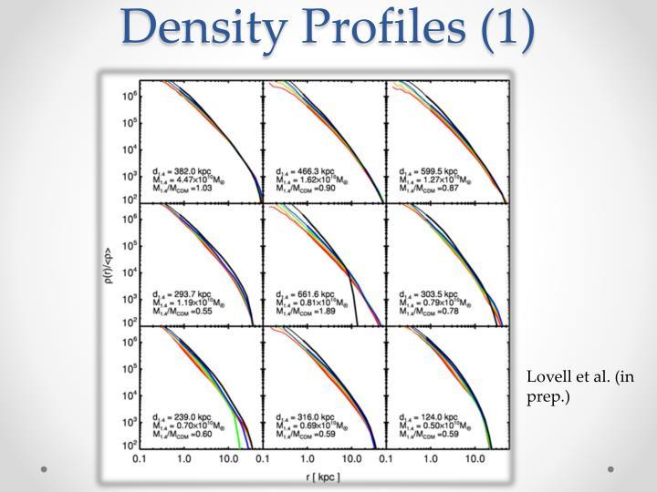 Density Profiles (1)