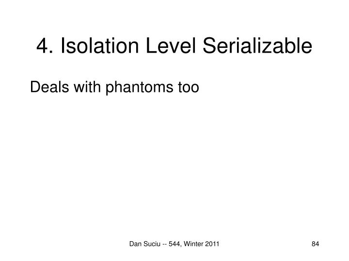 4. Isolation Level