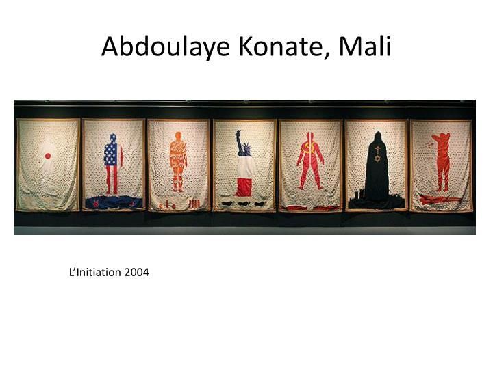 Abdoulaye konate mali