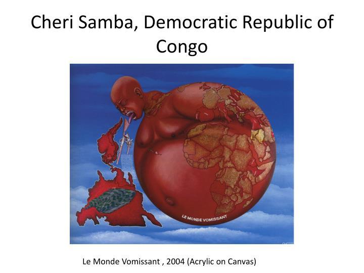 Cheri Samba, Democratic Republic of Congo