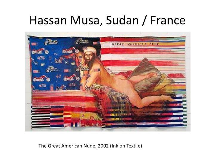 Hassan Musa, Sudan / France