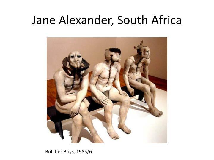 Jane Alexander, South Africa
