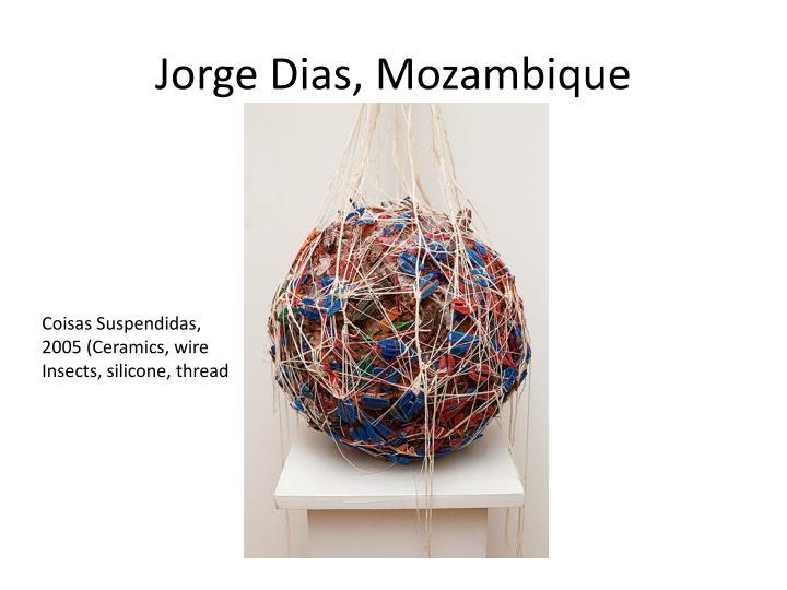 Jorge Dias, Mozambique