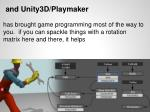 and unity3d playmaker1