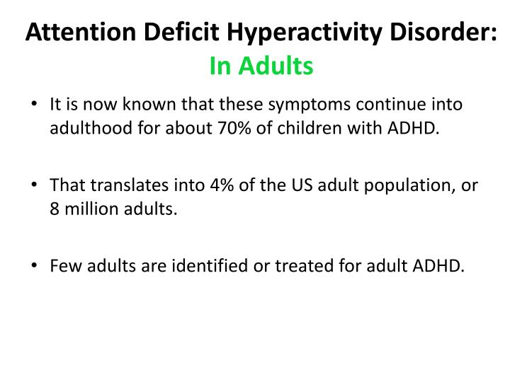 adhd t score on hyperactivity Cdc sponsors the national resource center, a program of chadd – children and adults with attention-deficit/ hyperactivity disorder the national resource center operates a call center with trained staff to answer questions about adhd.