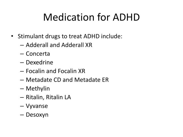 medication vs natural treatment for adhd 2 essay Of adhd drugs, this paper will provide an overview of two commonly prescribed drugs: adderall (dextroamphetamines) and ritalin (methylphenidate), with emphasis on the chemical and physical properties, chemical structure, mode of.