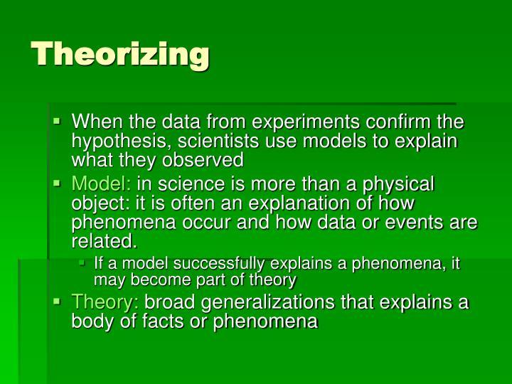 Theorizing
