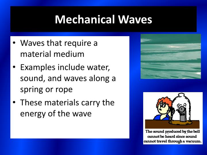 Ppt Mechanical Vs Electromagnetic Waves Powerpoint Presentation