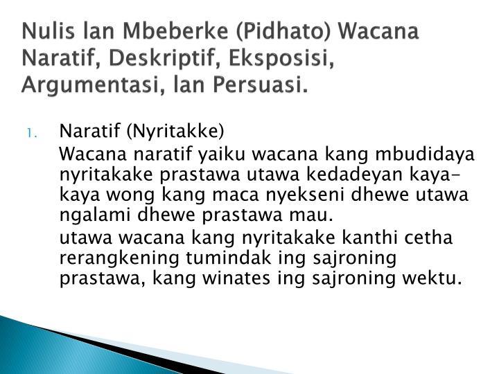 Ppt Jinising Wacana Powerpoint Presentation Id 2413100