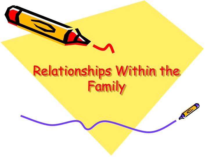 relationships within a family essay This essay will assess these views and will conclude whether gender roles and relationships have in reality, become more equal in modern family life initially, within the modernity period, functionalists like parsons (1955), saw a biological division of labour which he claimed were beneficial to the family and thus wider society.