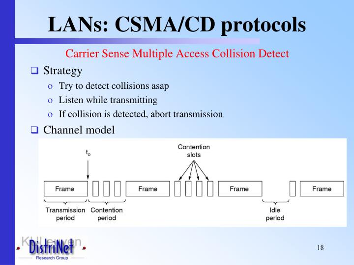 LANs: CSMA/CD protocols