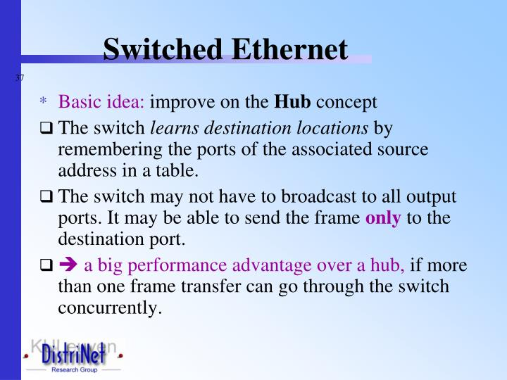 Switched Ethernet