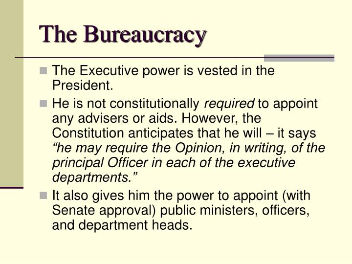 the plural executive and bureaucracy in The current georgia constitution can best georgia has a plural executive the article of the ga constitution that establishes the bureaucracy is.