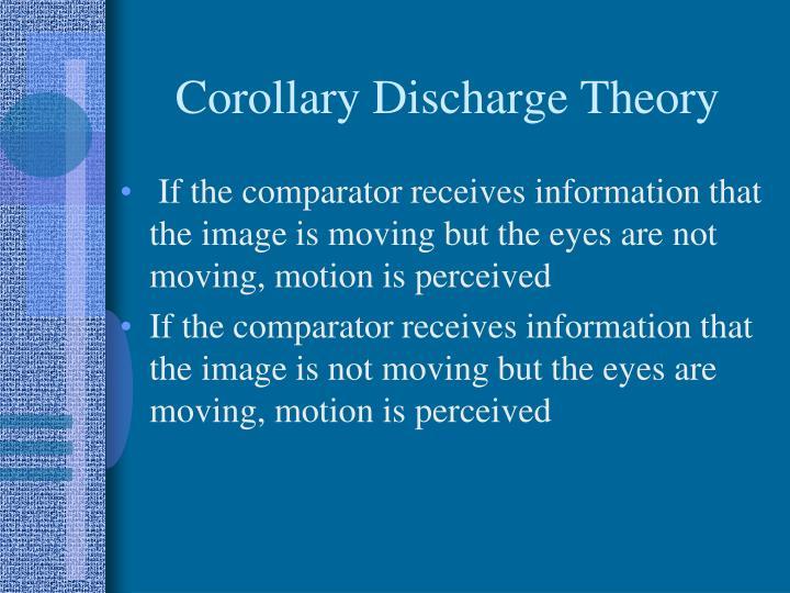 Corollary Discharge Theory