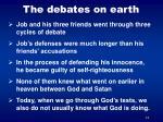 the debates on earth