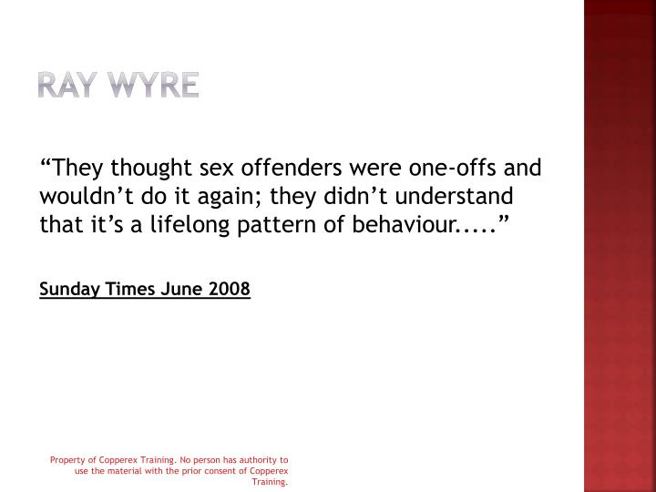 Ray Wyre