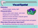 visual spatial