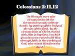 colossians 2 11 12