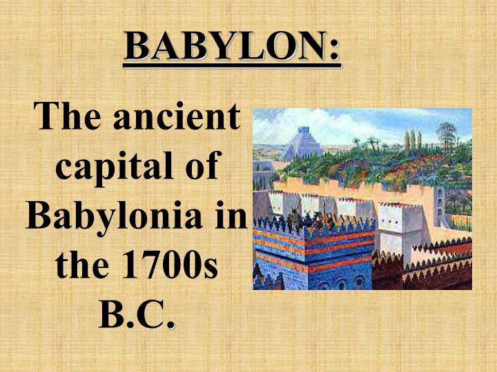 BABYLON: