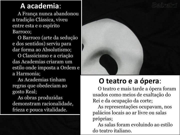 A academia