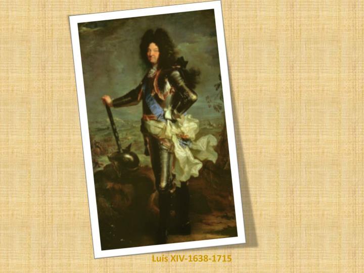 Luís XIV-1638-1715