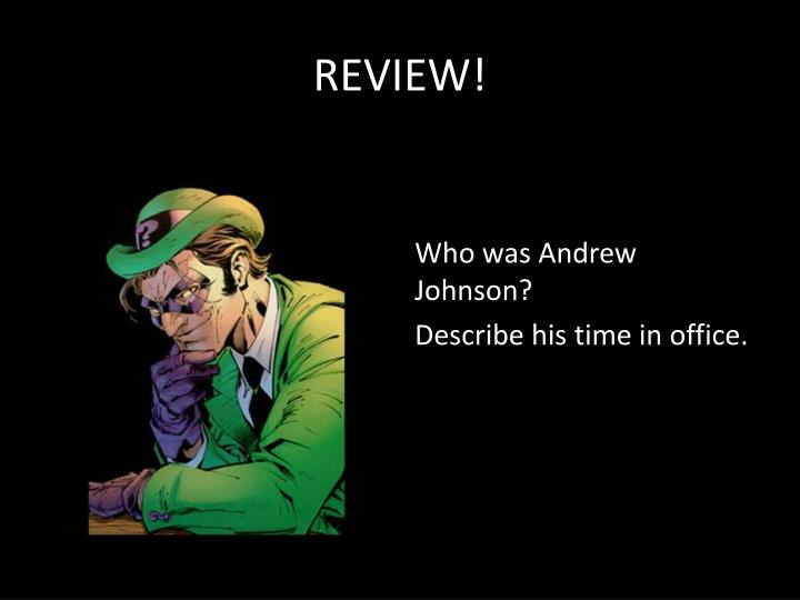 REVIEW!