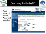 searching the the iwrc