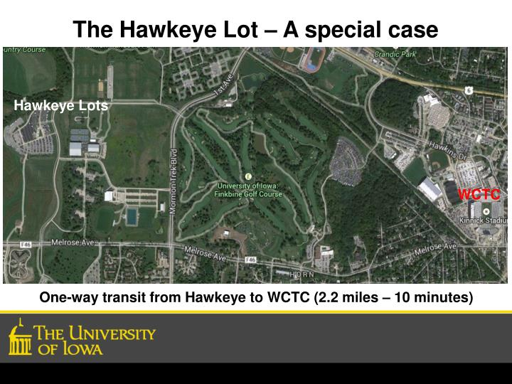The Hawkeye Lot – A special case