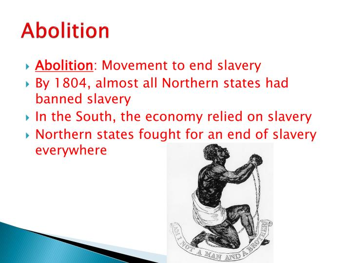 thesis statement on abolition of slavery Thesis statement slavery huck finn  after the abolition of slavery in the united states, the novel itself is set before the civil war, when nbsp.