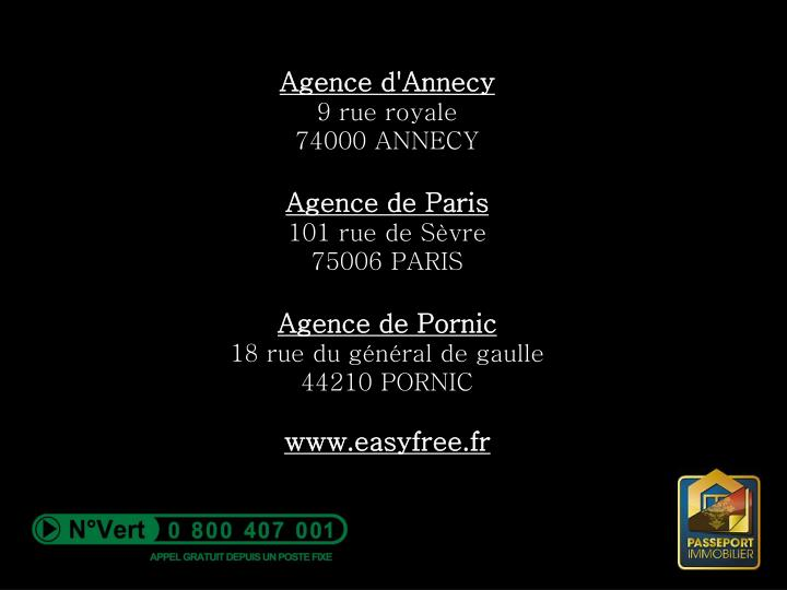 Agence d'Annecy