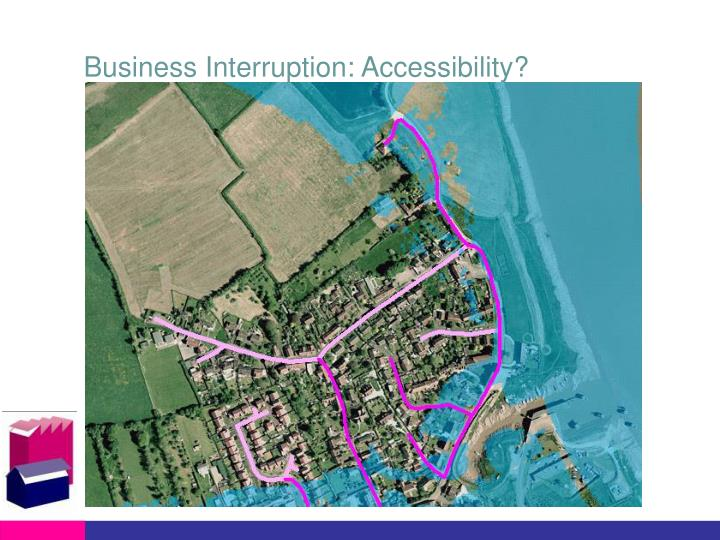 Business Interruption: Accessibility?