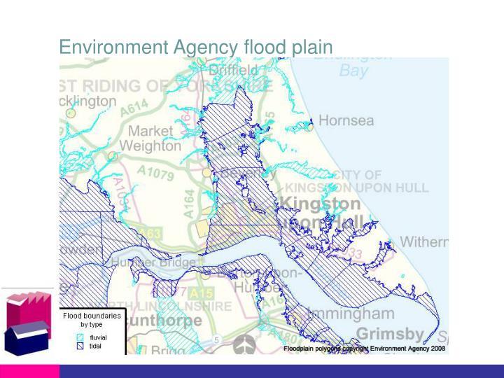 Environment Agency flood plain
