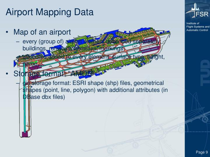 Airport Mapping Data