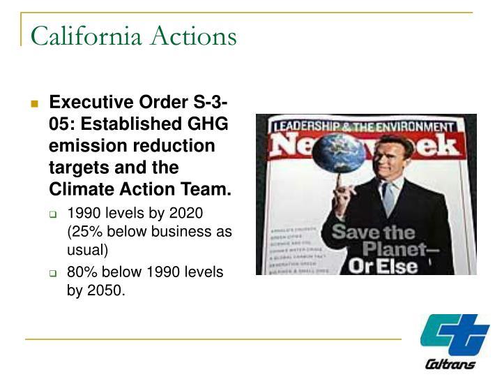 California Actions