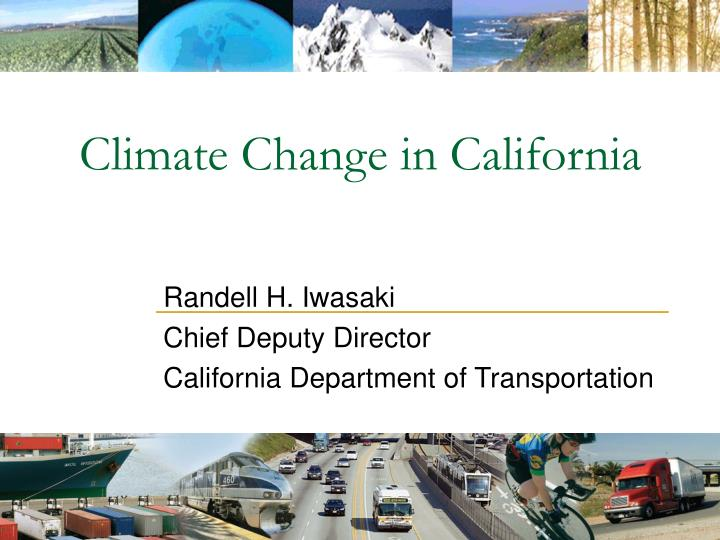 Climate Change in California