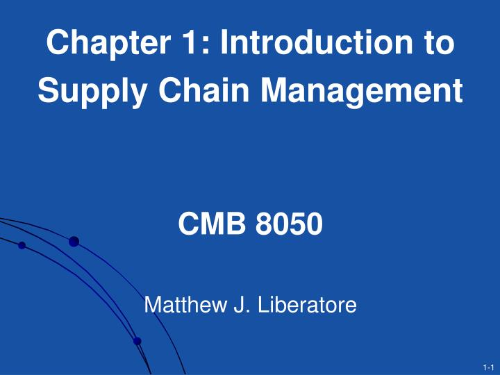 Chapter 1: Introduction to