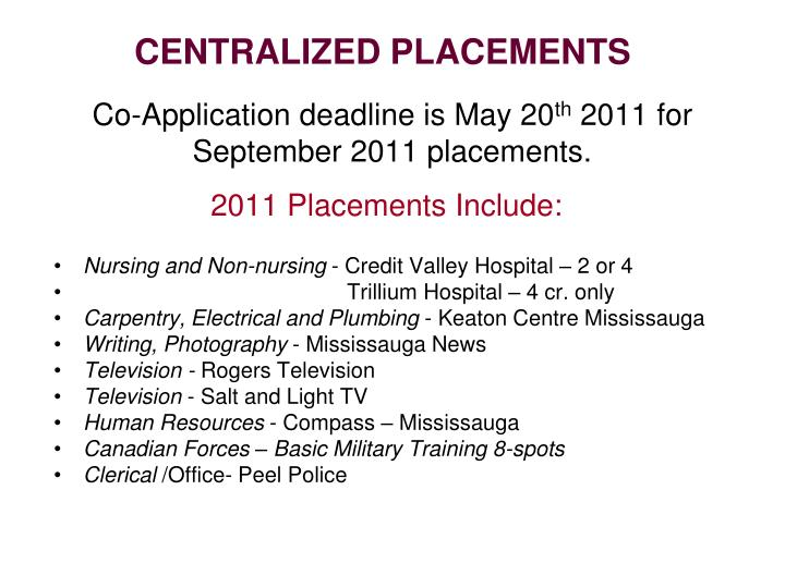 Co-Application deadline is May 20