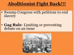 abolitionist fight back
