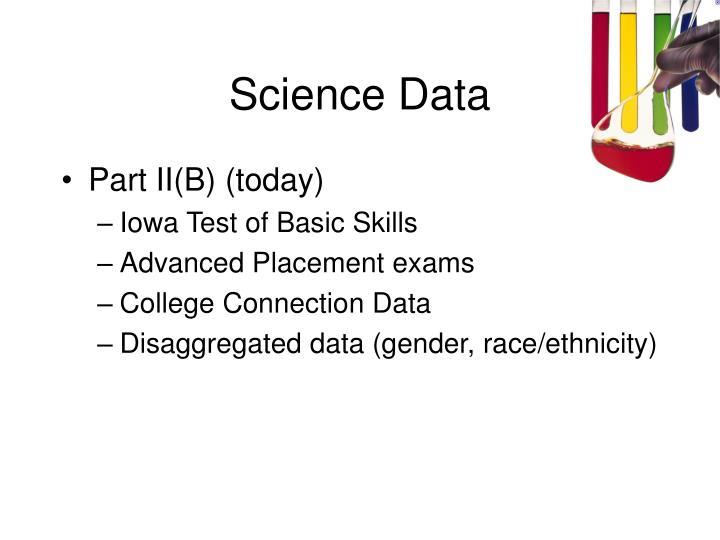 Science Data