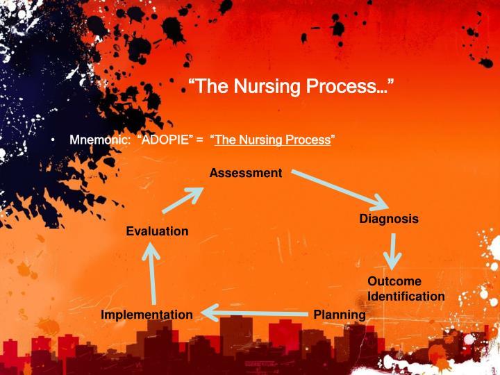 """The Nursing Process…"""