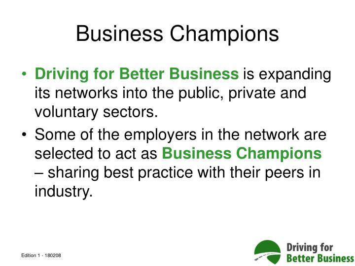 Business Champions